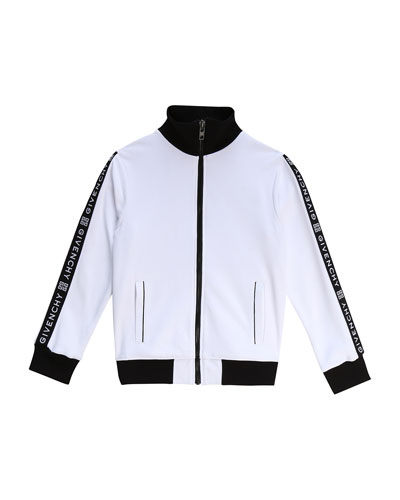 Boy's Logo Taping Track Jacket  Size 12-14  and Matching Items