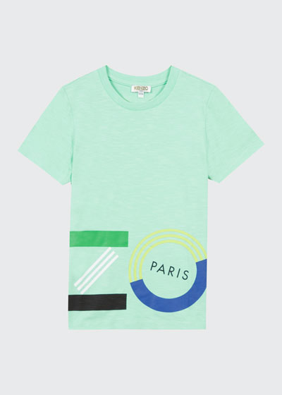 Boy's Wrap Around Logo T-Shirt  Size 2-6  and Matching Items