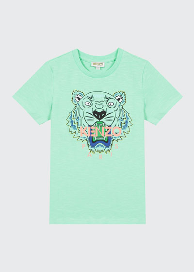 Boy's Tiger Logo Printed T-Shirt  Size 2-6  and Matching Items