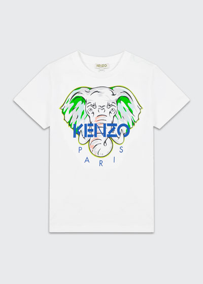 Boy's Elephant Logo Printed T-Shirt  Size 2-6  and Matching Items