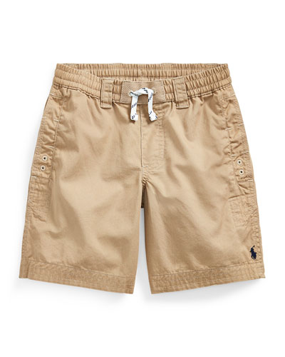 Boy's Parachute Twill Rugby Shorts  Size 2-4 and Matching Items