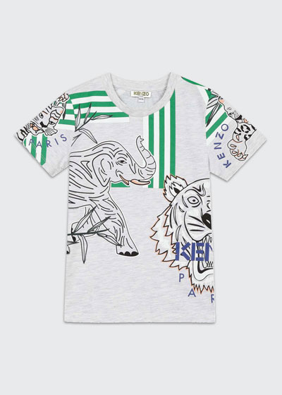 Boy's Multi Icon Graphic T-Shirt  Size 2-6  and Matching Items