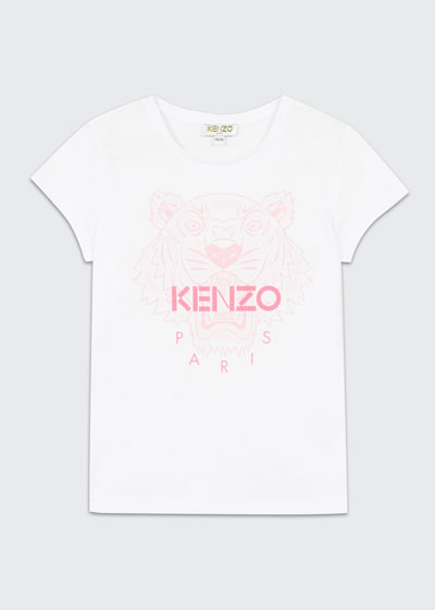 Girl's Tiger Logo Printed T-Shirt  Size 2-6  and Matching Items
