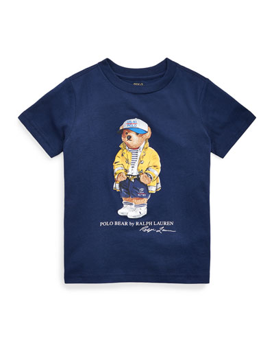 Boy's 301 Logo Bear Jersey T-Shirt  Size 2-4 and Matching Items