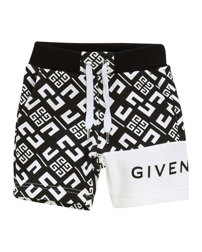 Boy's 4-G Printed Drawstring Shorts  Size 12-18 Months and Matching Items