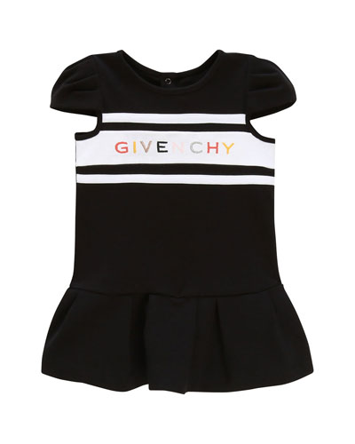 Girl's Multicolor Logo Text Dress  Size 12-18 Months and Matching Items