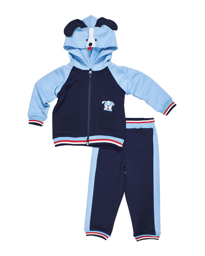 Comfort Zone Puppy Hoodie & Pants, Size 6-24 Months and Matching Items