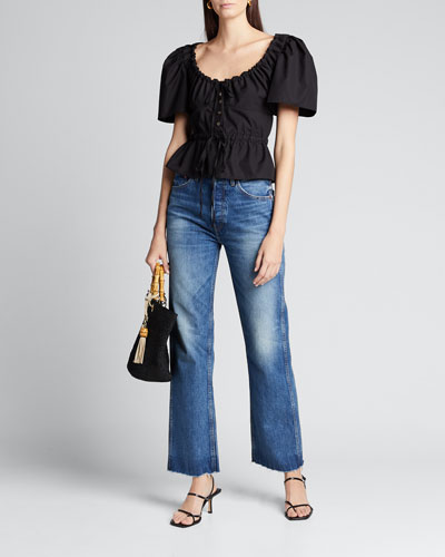 90s Relaxed Straight-Leg Jeans