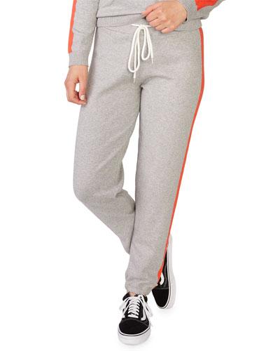 Vintage Sweatpants w/ Contrast Stripes
