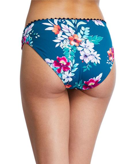 Floral Springs Reversible Hipster Bikini Bottom