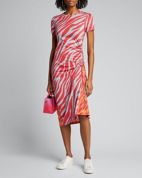 Ina Tiger Stripe Midi Dress by Rag & Bone