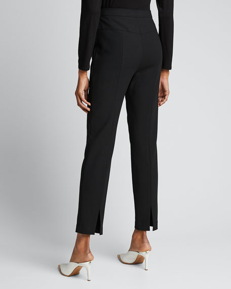 Anson Stretch Tailored Ankle Pants