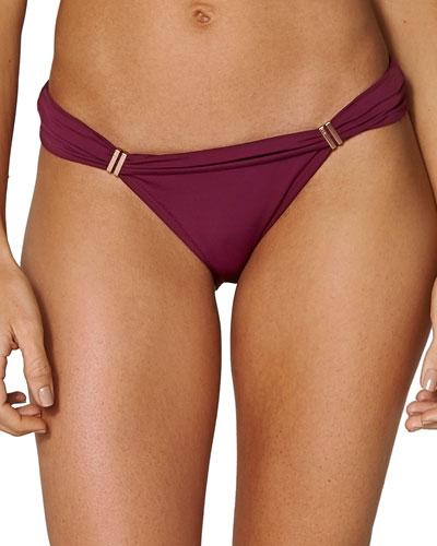 Bia Solid Tube Bikini Swim Bottom