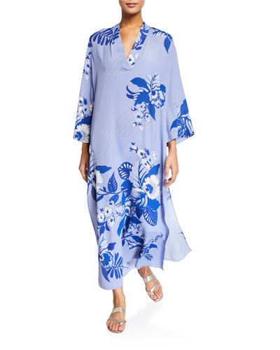 Jasmine Bell-Sleeve Tunic Dress