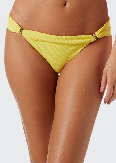 Grenada Cheetah-Print Bikini Bottom