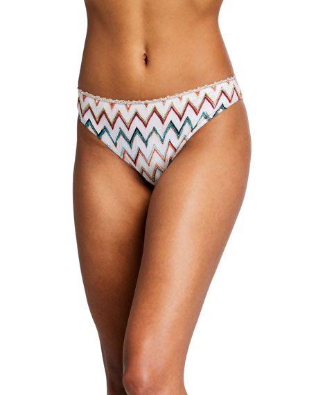 Chevron Hipster Bikini Bottom