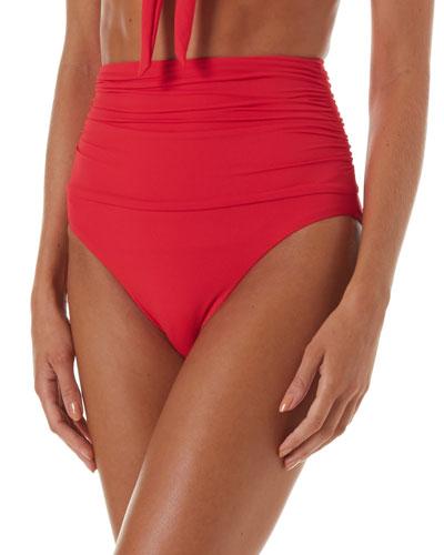 Caribe High-Waist Bikini Bottom