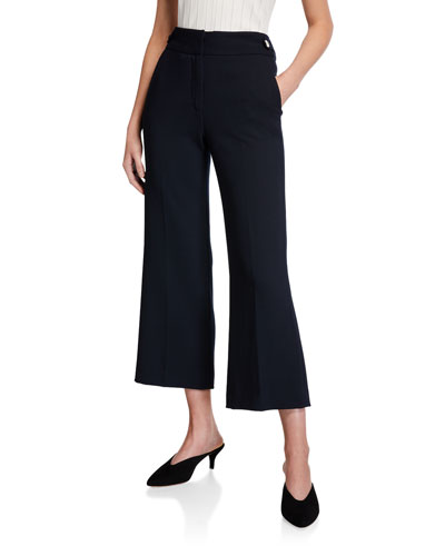 Aubrie High-Rise Cropped Pants