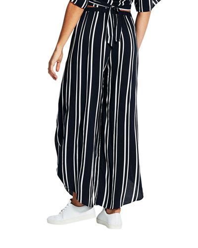 Summer Sea Striped Pants