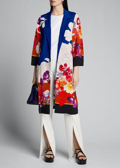Estee Floral Print Topper Jacket