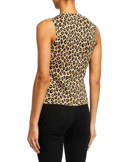 Leopard Print Shell