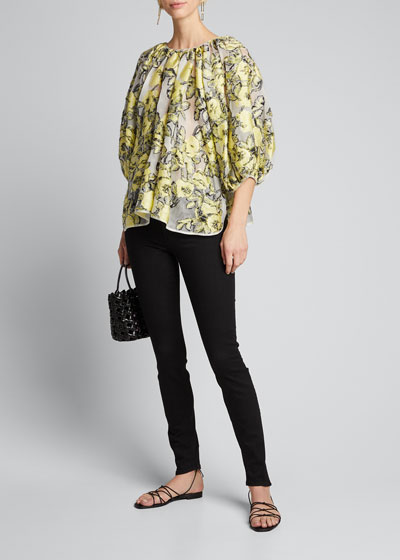 The Looker Skinny Ankle Jeans