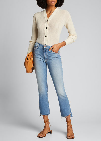 Insider Cropped Step Fray Jeans