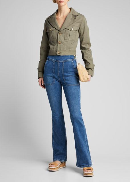 Le Francoise Flare Jeans