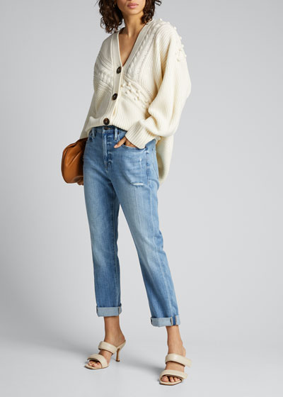 Le Beau High-Rise Jeans