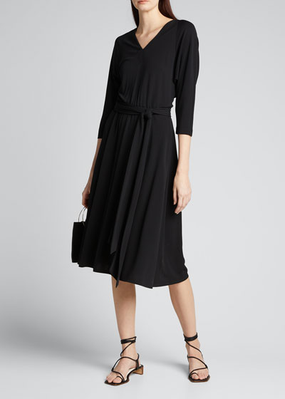 Evans Midweight Matte Jersey Dress