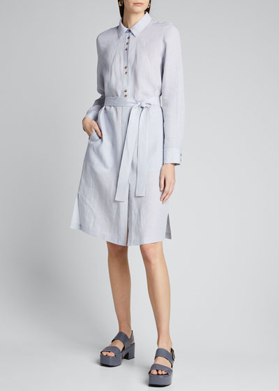 Michlle Illustrious Linen Duster Dress