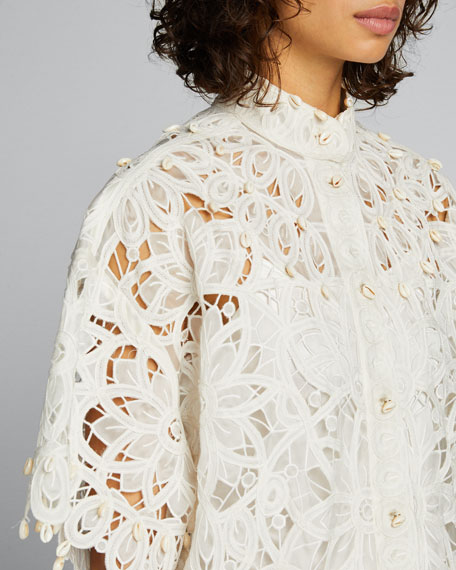 Wavelength Fringe Shirtdress