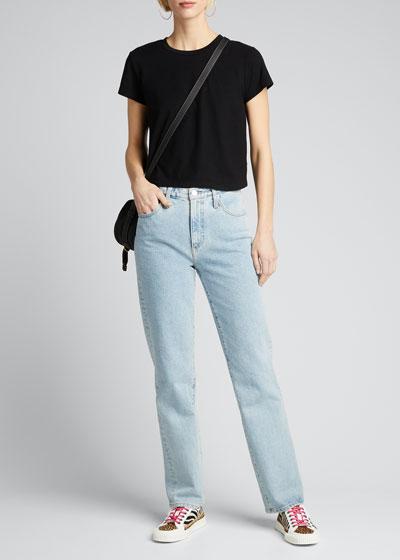 Alexxis Straight-Leg Jeans