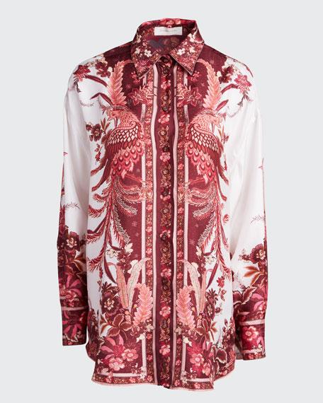 Wavelength Placement Button-Down Shirt
