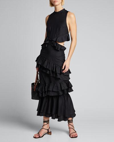 Aramis Ruffle Gown