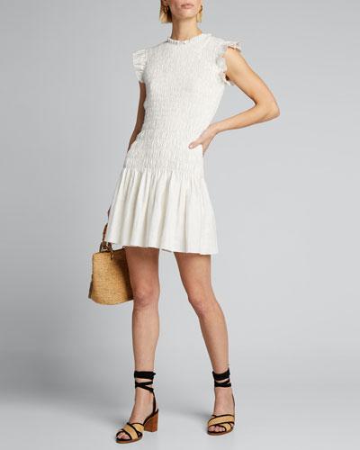 Emile Ruched Mini Dress