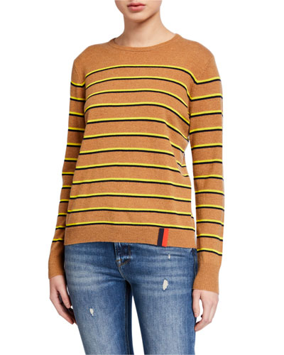 The Samara Striped Crewneck Sweater