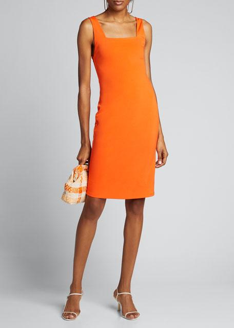 Addie Square-Neck Dress