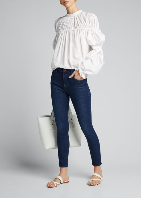 Image 1 of 1: Alana High-Rise Crop Skinny Jeans