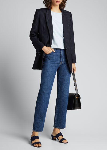 Image 1 of 1: Jules High-Rise Straight Jeans
