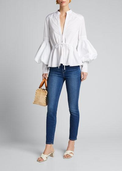 Margot High-Rise Skinny Crop Jeans