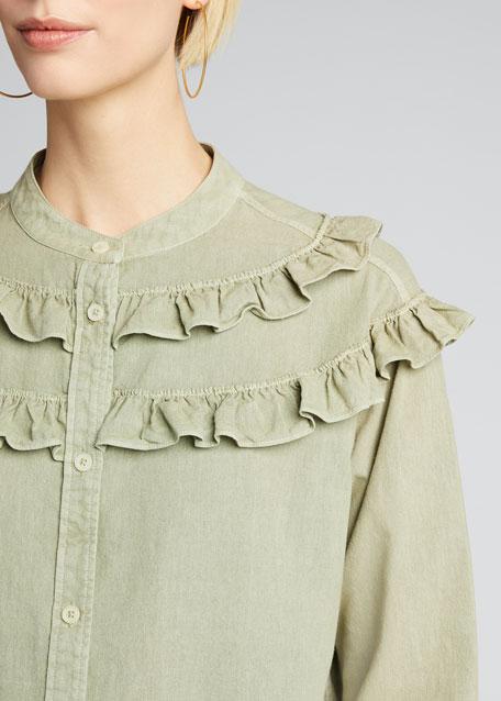 The Nettle Ruffle Shirt