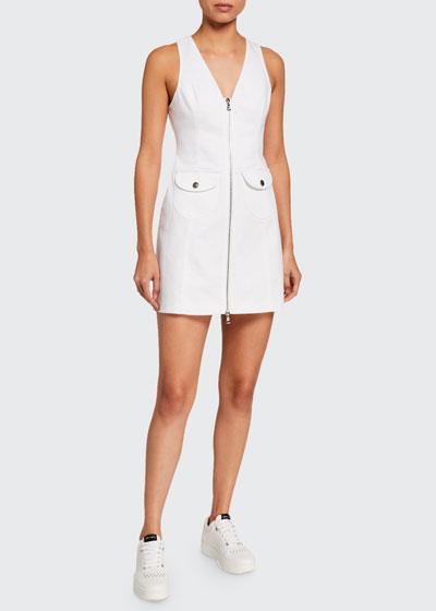 Irena Zip-Front Dress