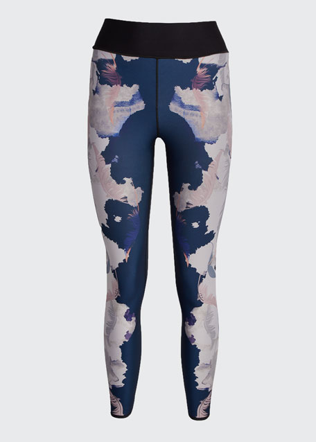 Heron Ultra High-Waist Printed Leggings