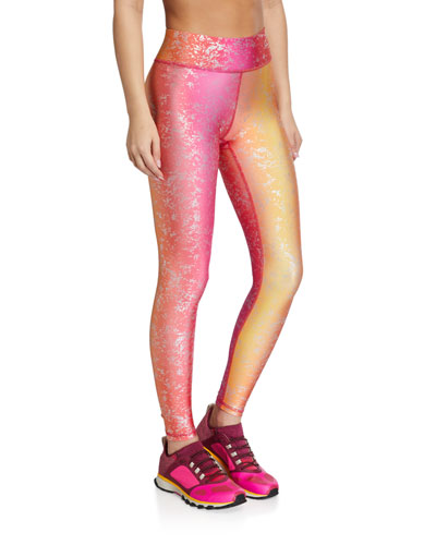 Tall Band Balayage Foil Leggings