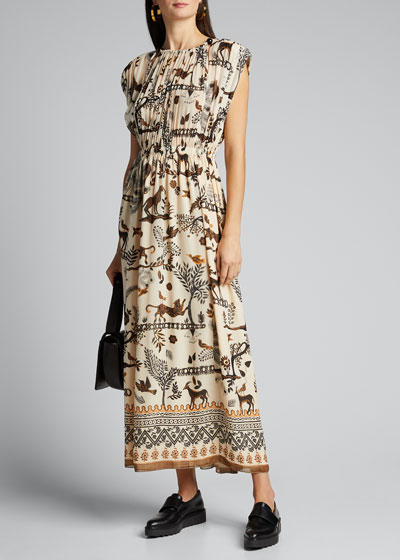 Sinead Sleeveless Printed Dress