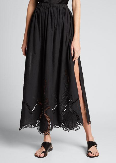 Owen Embroidered Skirt