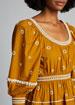 Adama Embroidered Long-Sleeve Dress