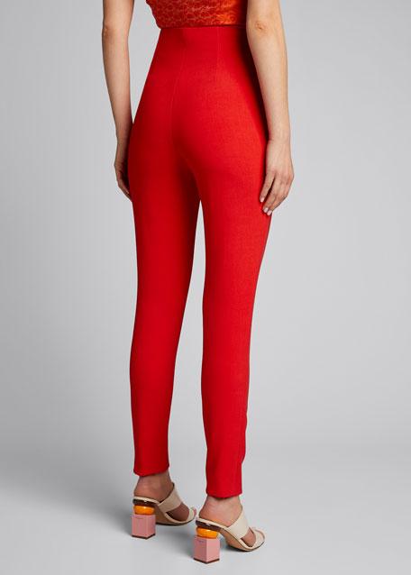 Lorinda Super High-Rise Crop Slim Pants