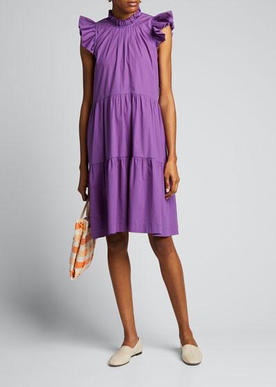 Tabitha Sleeveless Tiered Dress
